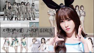 Download Lagu K-Pop vs. J-Pop Girls | 2017 Edition Gratis STAFABAND