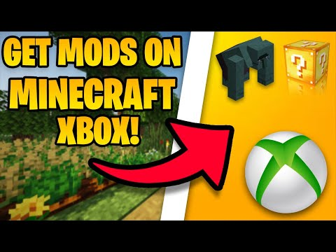 How To Get Mods On Minecraft Xbox One In 2021! (download mods on minecraft xbox!)