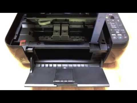 Canon MP280 - Changing the cartridges