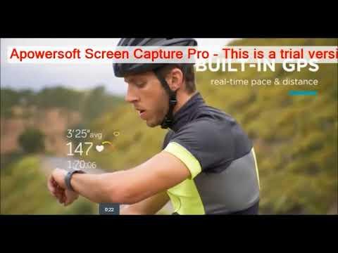 Fitbit Ionic Smartwatch FEACHER WIFI ,BLUTOOTH,GPS ETC.
