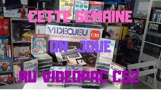 """ ON JOUE"" CETTE SEMAINE "" VIDEOPAC"""