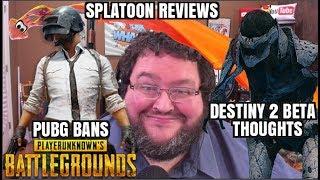 Destiny 2 Beta Review, Splatoon Reviews, Playerunknown