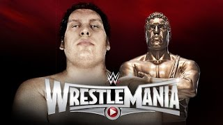 BREAKING NEWS On WWE WrestleMania 31 Andre the Giant Memorial Battle Royal - WrestleMania 31 Kickoff