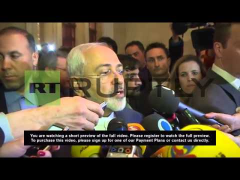 Switzerland: Iranian FM Zarif positive after P5+1 nuclear talks