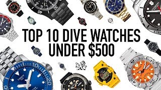 The Top 10 Best Value Professional Dive Watches Under $500