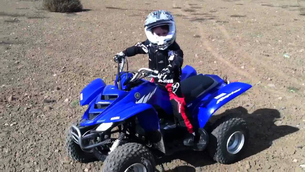 Yamaha raptor 50cc youtube for Yamaha raptor 50cc