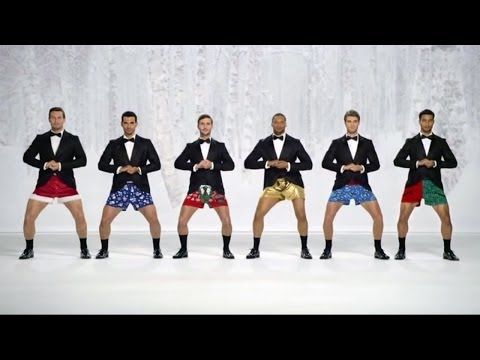 Show Your Joe Kmart commercial Boxer Christmas Jingle Bells