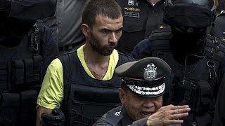 Bangkok Saldırısının Zanlısı Olay Yerinde