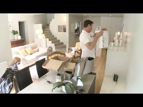 Relooking avant apr s mix de styles d co modernes d 39 un - Relooking salon avant apres ...