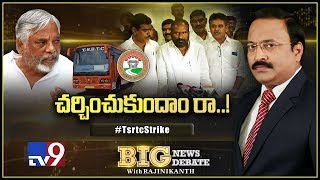 Big News Big Debate : Telangana RTC Strike - Rajinikanth TV9