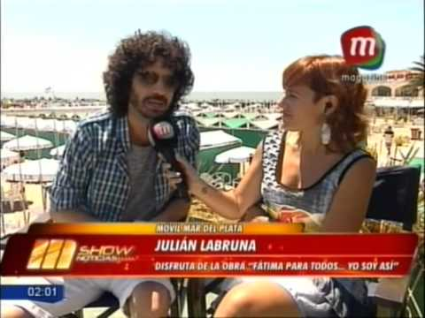 Julián La Bruna - MShow Noticias (Magazine TV)
