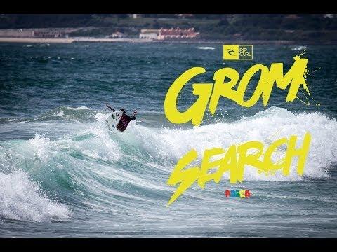 Europe: Costa Da Caparica - Rip Curl GromSearch presented by Posca