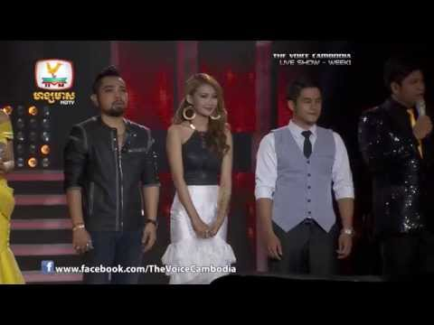 The Voice Cambodia - Live Show 1 - Or Kdey Sneha - Li Sokneth