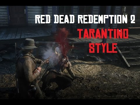 Red Dead Redemption 2 - Tarantino Style