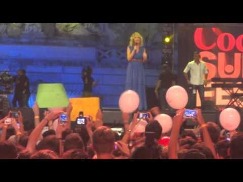 Alessia Marcuzzi Concerto Con Pausini Dear Jack Emis Killa a Roma