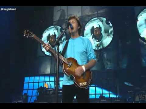 Paul McCartney - Good Day Sunshine -Live Hi Quality-Best Performance