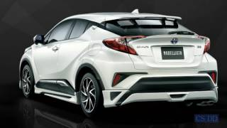 2017 Toyota C-HR Modellista tuning parts
