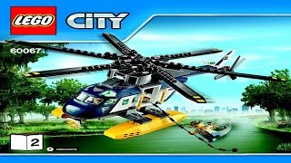 60067 LEGO  Helicopter Pursuit City Police