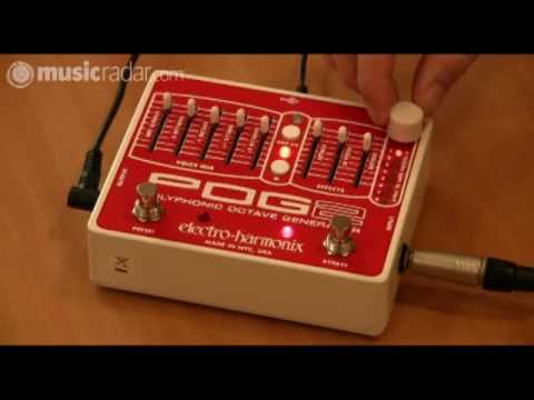 Electro-Harmonix POG 2 video demo from MusicRadar Music Videos