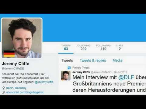 Economist removes top UK political columnist after disastrous propaganda fail. Sends him to Germany! MP3