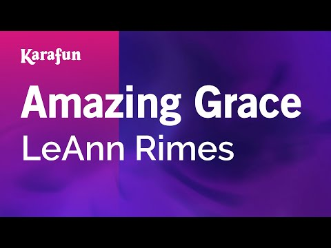 Karaoke Amazing Grace - Leann Rimes * video