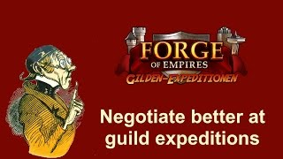 FoEhints: Negotiate Better at Guild Expeditions in Forge of Empires