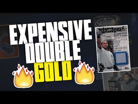 2 EXPENSIVE GOLD PULLS IN ONE PACK | HOW TO GET FREE TOPPS BUNDLES! | MLB THE SHOW 17 PACK OPENING