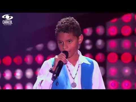Kevin cantó 'Vivir la vida' de Marc Anthony LVK Colombia Audiciones a ciegas T1