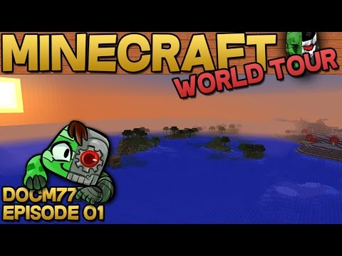 Best Minecraft Seed Ever The Minecraft World Tour S4E01