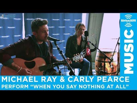 "Download  Carly Pearce & Michael Ray - ""When You Say Nothing At All"" Gratis, download lagu terbaru"