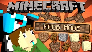 If a NOOB MODE was Added - Minecraft