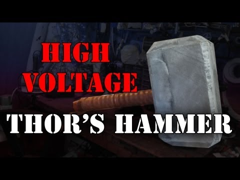 DIY high voltage Thor s Hammer: Mjolnir at 80,000 volts