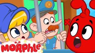 Police Go JAIL!- My Magic Pet Morphle | Cartoons For Kids | Morphle TV | BRAND NEW