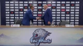 Барыс - Витязь / пресс-конференция / 5:0