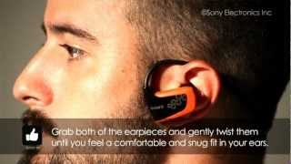 How To Size Your Sony Walkman® MP3 Player