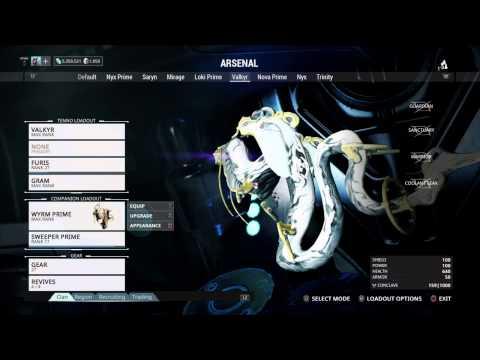 Warframe PS4 Unda Sentinel armor