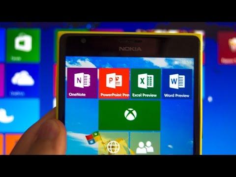 Conoce las aplicaciones de Office y Xbox de Windows 10 Mobile Insider Preview Build 10080