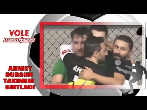 Vole Efsaneler Kupası | Ahmet Dursun takımını sırtladı!
