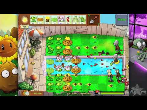 Plants vs Zombies Mini-Game Last Stand