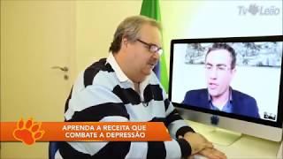 Palestrante Tiago Rocha Alerta sobre: Antidepressivos e Depressão