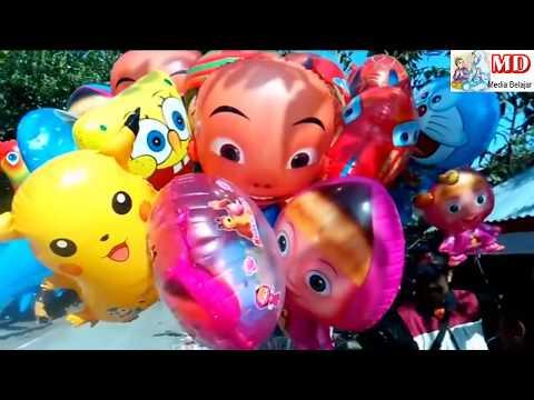 CarГter de balГes de brinquedos Pokemon, Masha, Boboiboy, UpinIpin, Doraemon, Spongebob