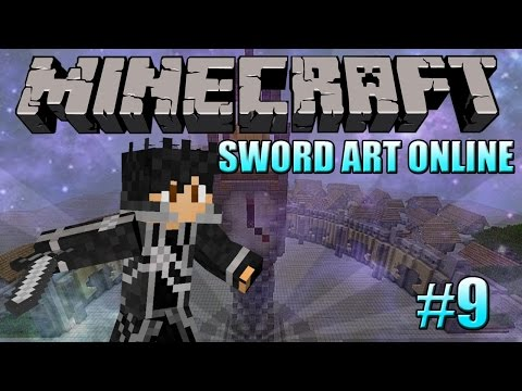 Minecraft: Sword Art Online Let's Play - Episode 9 Grimrock