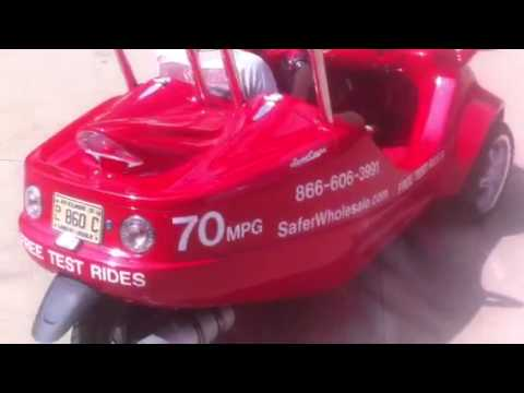 SaferWholesale.com Reviews 150cc Scoot Coupe For Sale Moped Scooter Car from Safer Wholesale