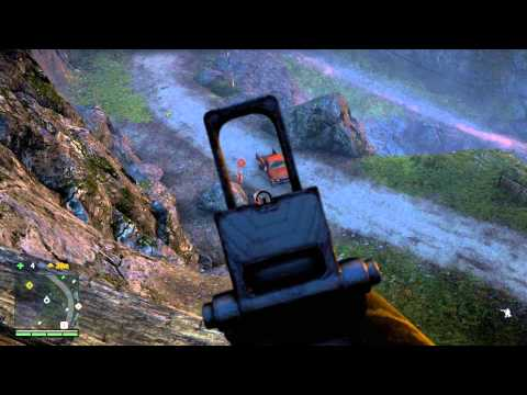 Far Cry 4 - The Sleeping Saints: Block Access (Shoot Rocks Sequence) Mission Complete Amita Chat PS4