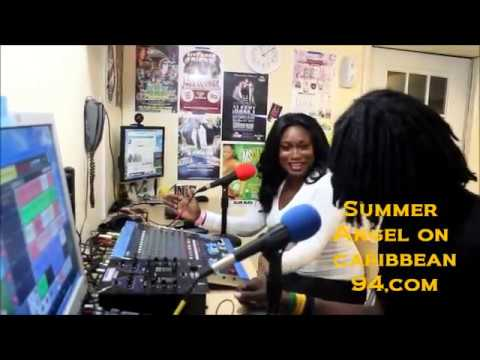 Summer Angel interview on caribbean 94.com new