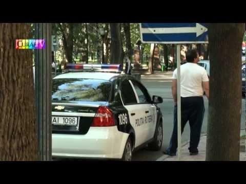 Poliția rutieră opera pe 31 august colț cu Iorga