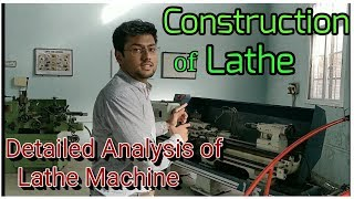 Construction of Lathe Parts and Functions