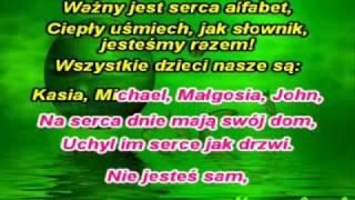 Majka Jezowska - Wszystkie dzieci nasze sa [karaoke]
