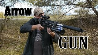 Homemade Arrow Gun