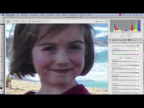 Salvare le foto delle vacanze con CameraRaw – Video Tutorial Photoshop Italiano